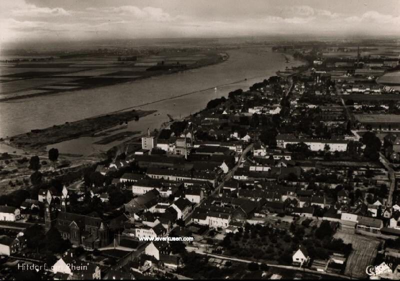 Hitdorf In Den Letzten 100 Jahren